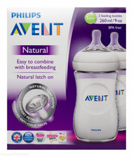 Lucan Pharmacy  AVENT Natural Feeding Bottles 260ml - 1 Mth+ (2 Pack)