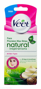 Veet Face Precision Strips Natural Inspirations - 20 Strips