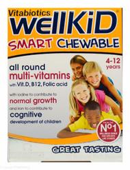 Vitabiotics WellKid® Smart Chewable Natural Fruit Flavoured Tablets - 30 Tablets
