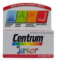 Centrum Junior Chewable Multivitamin Tablets – 30 Tablets