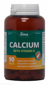 Sona® Calcium with Vitamin D – 90 Tablets