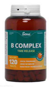 Sona® B Complex Time Release – 120 Capsules