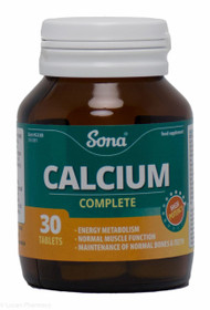 Sona® Complete Calcium – 30 Tablets