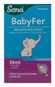 Sona® Babyfer Iron Supplement Drops – 50ml