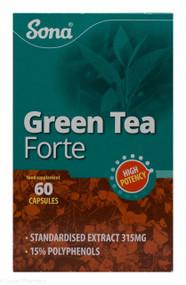 Sona® Green Tea Forte – 60 Capsules