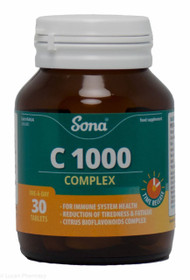 Sona® C 1000 Complex – 30 Tablets