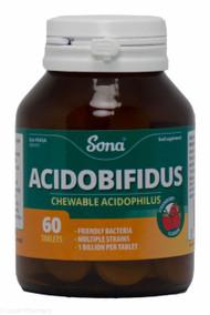 Sona® Acidobifidus – 60 Tablets