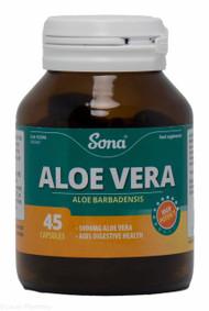 Sona® Aloe Vera – 45 Capsules