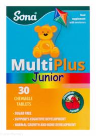 Lucan Pharmacy Sona® Chewable Multiplus Junior – 30 Tablets