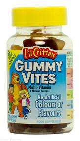 L'il Critters Gummy Vites Multi-vitamins & Mineral Formula - 70 Gummy Bears