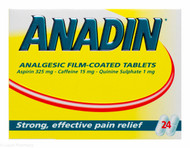 ANADIN™ Analgesic Film-Coated Tablets – 24 Tablets #P
