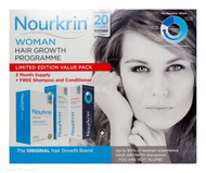 Nourkrin®  Woman Ltd Edition Value Pack - 180 Tablets+Free Shampoo & Conditioner