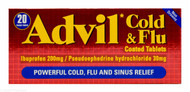 Advil™ Cold & Flu Non-Drowsy - 20 Coated Tablets #P
