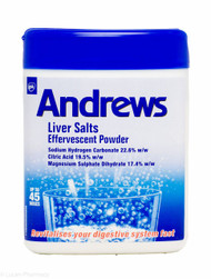 Andrews Liver Salts Effervescent Powder – 250g #P