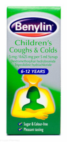 Benylin® Children's Coughs & Colds 6-12 Years – 125ml #P