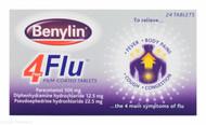 Benylin® 4 Flu™ – 24 Film-Coated Tablets #P