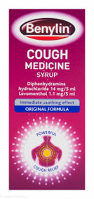 Benylin® Cough Medicine – Traditional Flavour – 125ml #P