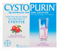 Cystopurin® 3g Granules for Oral Solution – 6 Sachets #P