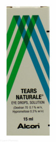 Alcon® Tears Naturale® Eye Drops Solution – 15ml #P