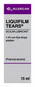 Allergan Liquifilm Tears® Ocular Lubricant 1.4% w/v Eye Drops Solution – 15ml #P