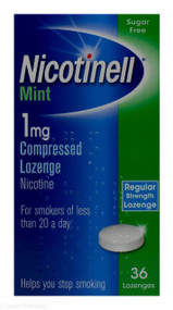 Nicotinell® Mint 1mg Compressed Lozenge – 36 Lozenges #P