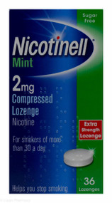 Nicotinell® Mint 2mg Compressed Lozenge – 36 Lozenges #P