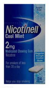 Nicotinell® Cool Mint 2mg Medicated Chewing Gum – 24 Pieces #P