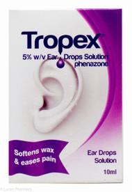 Tropex® 5% w/v Ear Drops Solution – 10ml #P