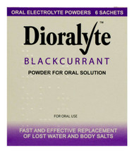 Dioralyte™ Blackcurrant Oral Electrolyte Powder - 6 Sachets