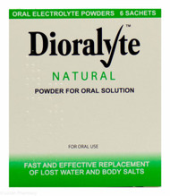 Dioralyte™ Natural Oral Electrolyte Powder - 6 Sachets