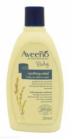 Aveeno® Baby Soothing Relief Emollient Wash – 354ml