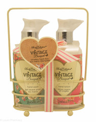 Body Collection Vintage Bouquet Hand Wash and Lotion Set