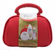 Dove Travel Case with Body Wash, Moisturising Cream and Anti-Perspirant