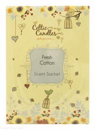 Celtic Candles Scent Sachet – Fresh Cotton