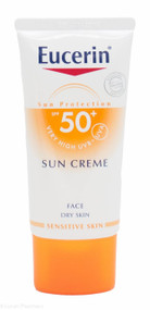 Eucerin® Sun Face Creme SPF 50+ High UVB + UVA Protection – 50ml