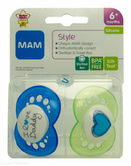 Lucan Pharmacy  MAM Style Soothers (2 Pack) - 6mths+