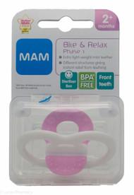 MAM Bite & Relax Phase 1 Mini Teether - 2mths+