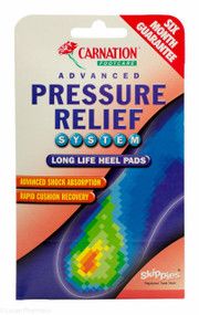 CARNATION® Footcare Advanced Pressure Relief Long Life Heel Pads - 1 Pair