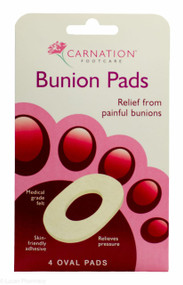CARNATION® Footcare Bunion Pads - Pack of 4