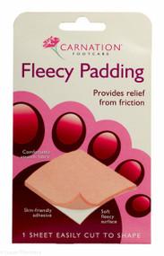 CARNATION® Footcare Fleecy Padding