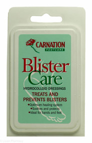 CARNATION® Blister Care Hydrocolloid Dressing - 10 Assorted Dressings
