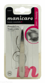 Manicare Precision Tweezers With Pouch