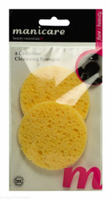 Manicare Cellulose Cleansing Sponges - Pack of 2