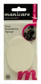 Manicare Oval Foundation Sponge