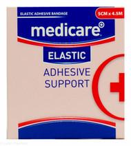 Lucan Pharmacy Medicare+® Elastic Adhesive Bandage Support - 5cm x 4.5m