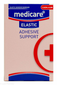 Lucan Pharmacy Medicare+® Elastic Adhesive Bandage Support - 7.5cm x 4.5m