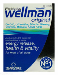 Vitabiotics Wellman® Original - 30 Tablets
