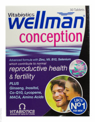 Vitabiotics Wellman®  Conception - 30 Capsules