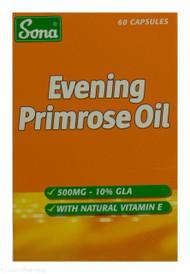 Sona® Evening Primrose Oil 500mg - 60 Capsules