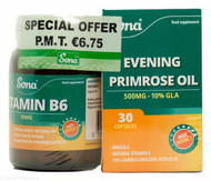 Sona PMT Pack with Vitamin B6 & Evening Primrose Oil - 30 Tablets/Capsules